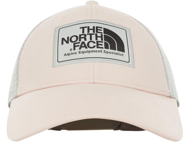 The North Face Mudder Trucker Hat pink salt/asphalt grey